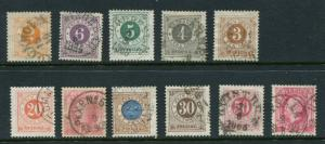 Sweden #40-9,#45a Used - Make Me A Reasonable Offer!