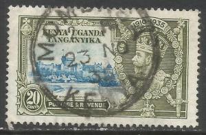 KENYA, UGANDA & TANZANIA 42 VFU Z68-2