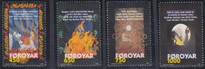 Faroe Islands 332-335 MNH (1998)