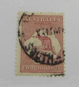 Australia SC #125  used stamp