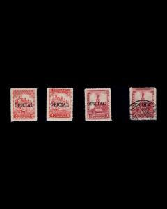 VINTAGE: MEXICO 1928-29 OGNH,OGLH,OGLH  SCOTT # 0196-7 $ 75.50 LOT # MEX1928AQ