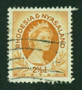 Rhodesia & Nyasaland1956 #143B U BIN=$0.20
