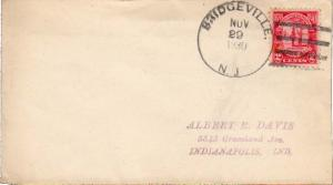 United States New Jersey Bridgeville 1930 4c-bar  1840-1930  Philatelic.