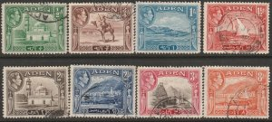 Aden 16-23 partial set used
