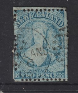 New Zealand a used 2d  QV Full face queen
