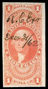 U.S. REV. FIRST ISSUE R73a  Used (ID # 84028)