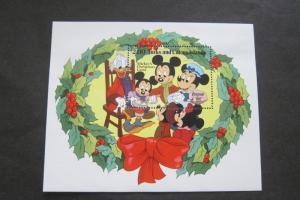 Turks & Caicos 1982 Sc 549 Disney set MNH