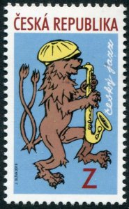 HERRICKSTAMP NEW ISSUES CZECH REPUBLIC Sc.# 3754 Jazz Music