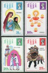 Fiji 337-340,MNH.Mi 310-313. Christmas,Indian New Year,Ramadan,Lunar New Year.