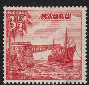 Nauru 41 Loading Phosphate 1954
