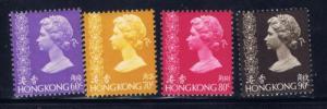 Hong Kong 320-23 NH 1977 issues