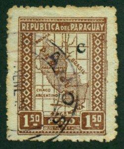 Paraguay 1927 #L23 U SCV (2018) = $0.50