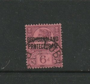 Bechuanaland 1897 Jubilee 6d Used SG 65