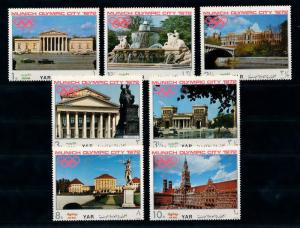 [77700] Yemen YAR 1970 Olympic Games Munich Buildings  MNH