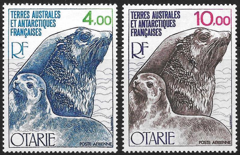 French Southern Antarctic Territories FSAT TAAF Scott C47-48 M NH Cat US$13