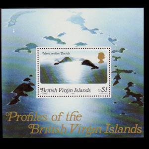 VIRGIN IS. 1980 - Scott# 400B S/S Island Inv.Wmk NH