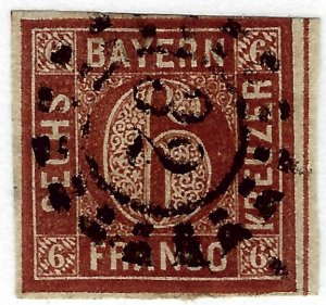 Bavaria #5 Used VF SC$6.50...Such a Deal!