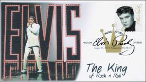 2015, Elvis Presley, FDC, Music Icons, Digital Color Postmark, 15-205
