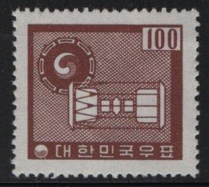 KOREA, 342, MNH, 1961-62, Ancient Drums