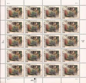 US Stamp - 1999 Frederick Law Olmsted - 20 Stamp Sheet - Scott #3338