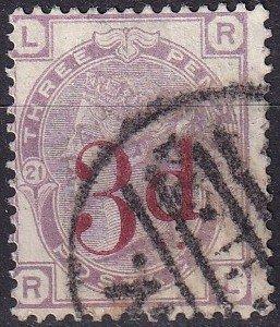 Great Britain #94  F-VF Used  CV $150.00 (Z9108)