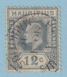 MAURITIUS 144  USED - NO FAULTS EXTRA FINE !