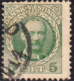 Danish West Indies #43 Used