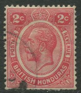 British Honduras.- Scott 94 - KGV Definitive - 1922 - Used - Single 2c Stamp