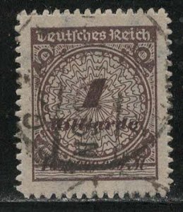 Germany Reich Scott # 305, used, exp h/s