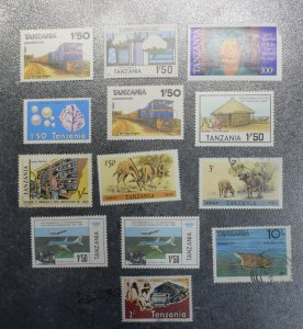 TANZANIA  Stamps  stock page 4C  mnh and used 1980s    ~~L@@K~~