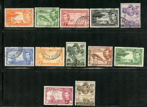 Cayman Islands # 100-111, Used. CV $ 47.35