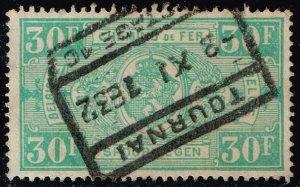 Belgium #Q170 Parcel Post & Railway; Used (0.40) (2Stars)