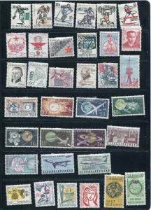 Czechoslovakia  1963 Mi 1377-1446 MH Complete Year  (-4 Stamps) CV 80 Euro