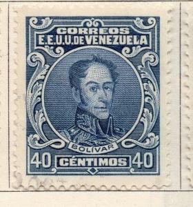 Venezuela 1922-27 Early Issue Fine Used 40c. 149541
