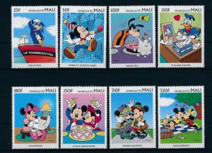 [23217] Mali 1997 Disney Mickey Minnie Mouse Goofy Greeting stamps MNH