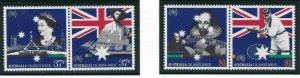 Australia 1083a-85a MNH 1988 Australia Bicentennial (ap6546)