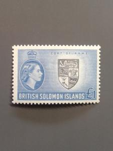 Solomon Islands 105  F-VF MH. Scott $ 32.50