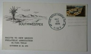 S WESTPEX El Paso TX SMU Philatelic Center Dallas TX 1975 Sc#U567 Cachet Cover