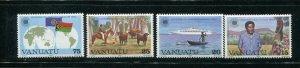Vanuatu MNH 349-52 Commonwealth Day 1983