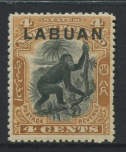 Labuan - Scott 96 - Pictorial Definitive - 1899 - MNH - Single 4c Stamp