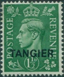 Morocco Agencies Tangier 1950 SG282 1½d pale green KGVI MLH