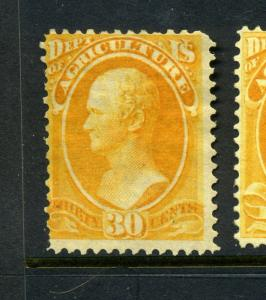 Scott #O9 Agriculture Official Mint Stamp (Stock #O9-8)
