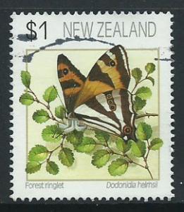 New Zealand SG 1640 FU perf 13 1/2 x 14 1/2