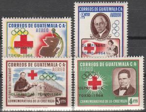 Guatemala #C283-6  MNH F-VF CV $5.00 (V326)