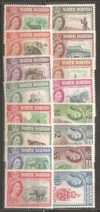 North Borneo SC 280-95 Mint, Never Hinged