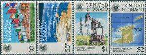 Trinidad and Tobago 1983 SG622-625 Commonwealth Day set MNH