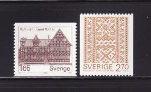 Sweden 1408-1409 Set MNH Various (A)