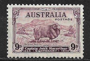 COLLECTION LOT OF # 149 MNH AUSTRALIA 1934 CV = $75