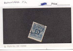J25993  jlstamps 1907 denmark used #p2 perf 13 design, all checked