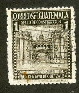 GUATEMALA RA19 USED SCV $8.00 BIN $3.50